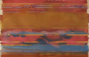 News: Edwin Ruda: The Band Paintings (1969 - 1972) Opens at Berry Campbell Gallery, January  6, 2014