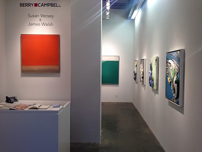 News: Berry Campbell Gallery features Susan Vecsey and James Walsh, June  5, 2014 - Artdaily.com