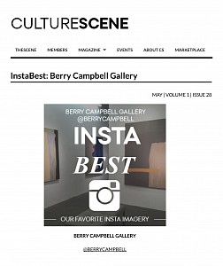 News: CultureScene features Berry Campbell, May 13, 2015 - Culture Scene