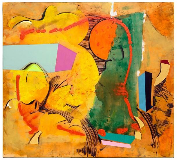 Walter Darby Bannard, Prodigal Sun (15-23A) 2015, Acrylic on canvas
