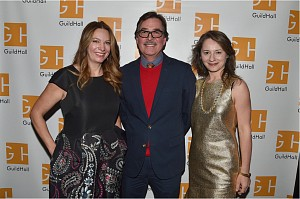 News: Christine Berry, Eric Dever, and Susan Vecsey Photographed at the Guild Hall Academy of the Arts Awards Dinner, March  9, 2018
