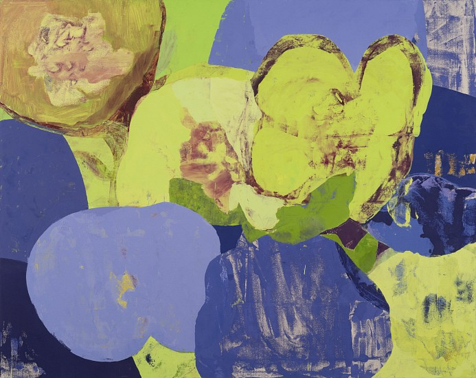 Eric Dever, May 19th, Hellebores II 2018, Oil on canvas