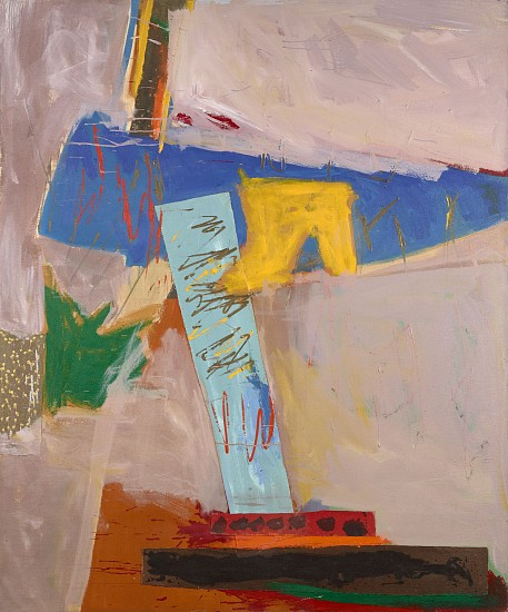 Ann Purcell ,   Gypsy Wind  ,  1983     Acrylic and collage on canvas ,  72 x 60 in. (182.9 x 152.4 cm)     PUR-00016