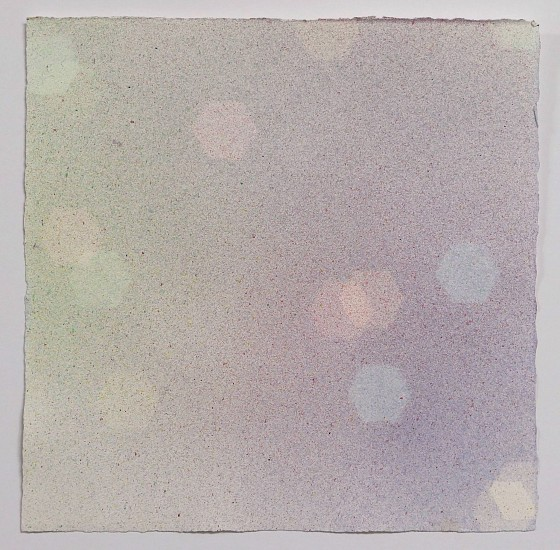 Mike Solomon ,   Study for Bokeh #10  ,  2017     Watercolor on paper ,  11 1/2 x 11 1/2 in. (29.2 x 29.2 cm)     MSOL-00071