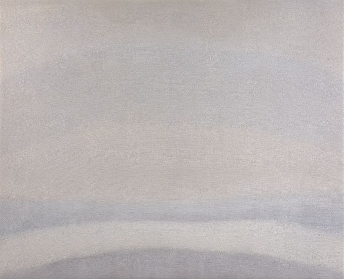 Susan Vecsey ,   Untitled (White/Gray) | SOLD  ,  2019     Oil on linen ,  60 x 74 in. (152.4 x 188 cm)     VEC-00196